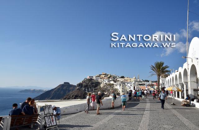 サントリーニ島 フィラ観光