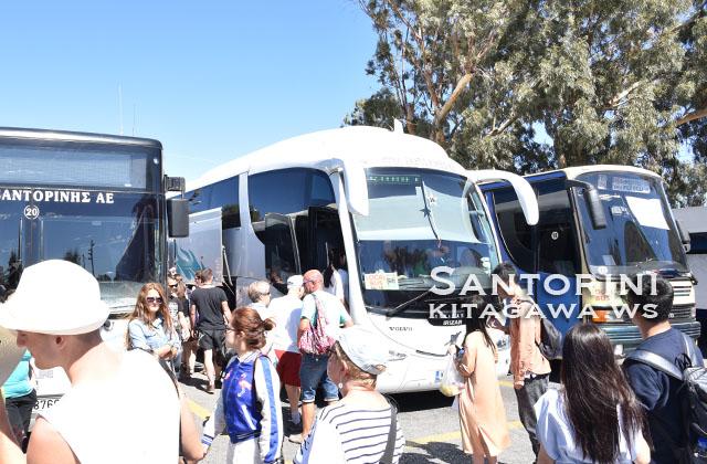 サントリーニ バス