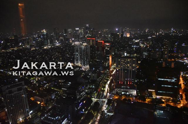 ジャカルタ 夜景