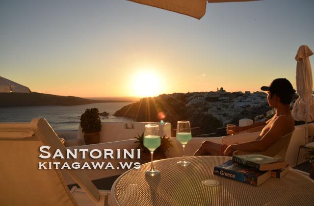 ギリシャ旅行記 サントリーニ観光