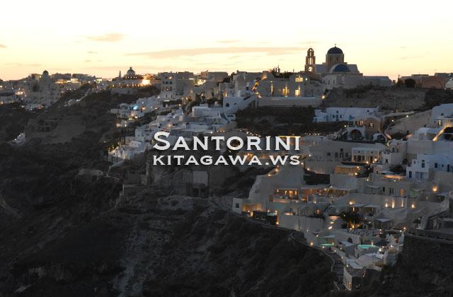 ギリシャ サントリーニ イア
