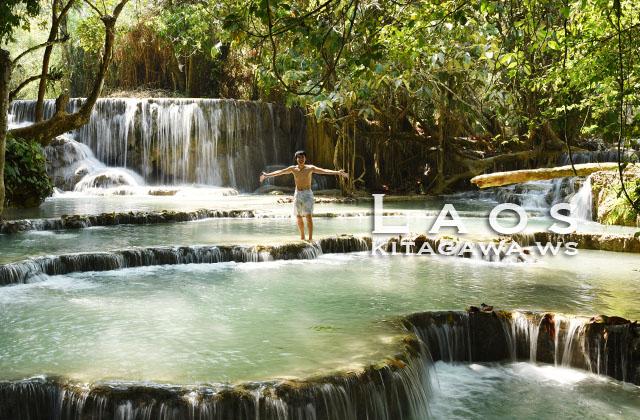 タート・クアンシーの滝 ルアンパバーン