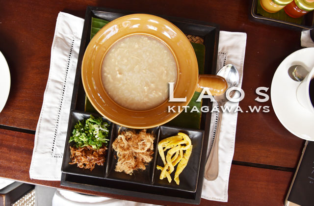 Congee ラオス 粥