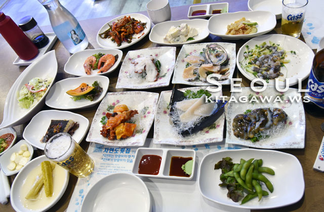 ソウル 海鮮 レストラン