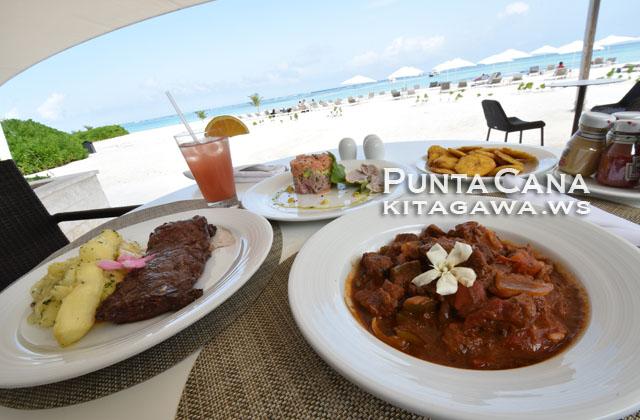 ドミニカ共和国旅行記 プンタカナのレストラン