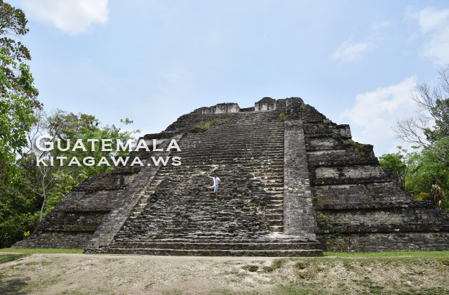 ティカル遺跡 失われた世界 大神殿