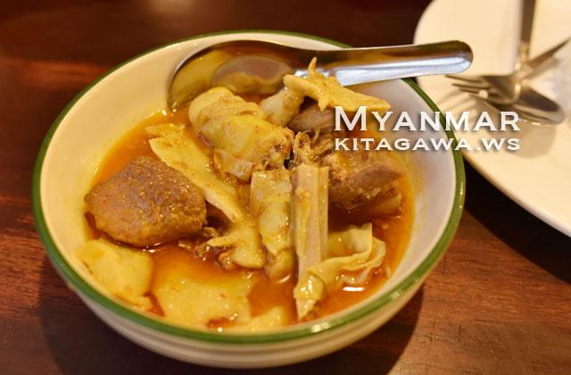 ビルマ料理レストラン