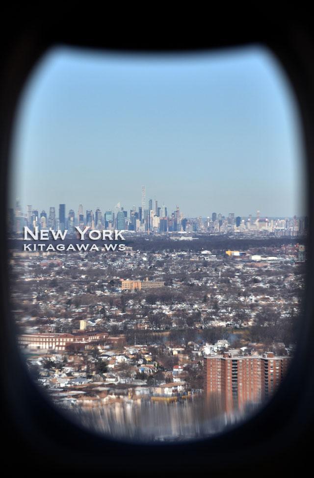 ニューヨーク旅行記 マンハッタン遠景
