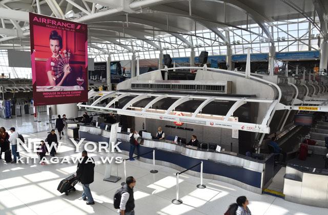 ニューヨークJFK空港
