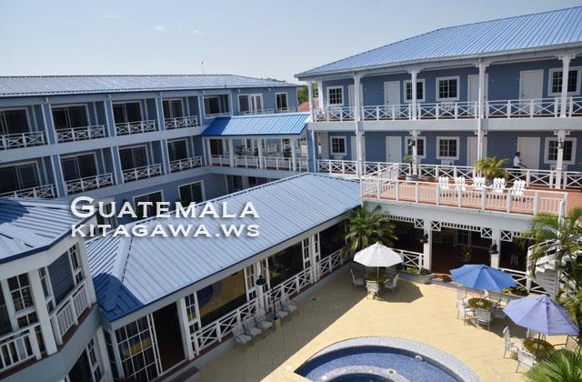 グアテマラ フローレス ホテル