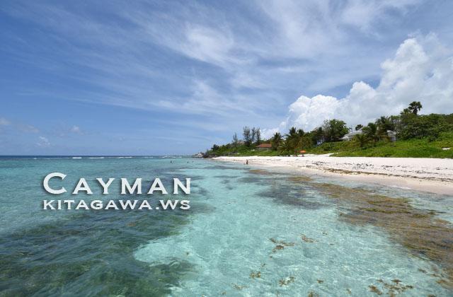 ケイマン諸島 ビーチ