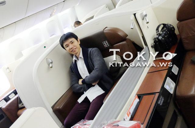 JALスイート搭乗記
