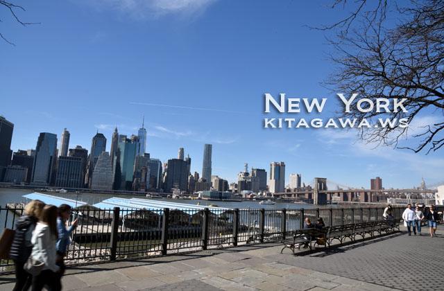 Brooklyn Heights Promenade ブルックリンハイツ プロムナード