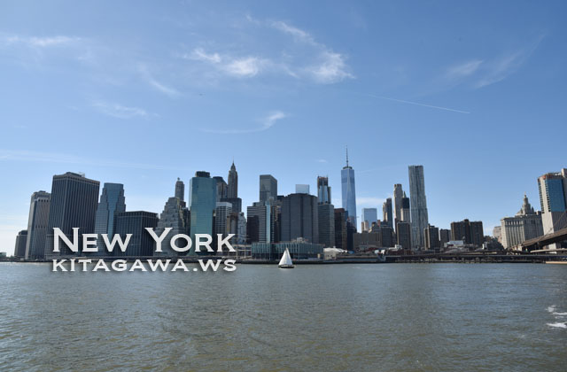 ブルックリンからマンハッタン