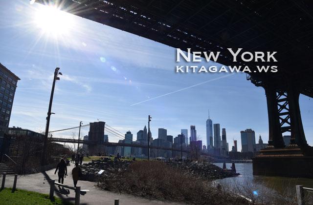 ブルックリン橋とマンハッタン橋
