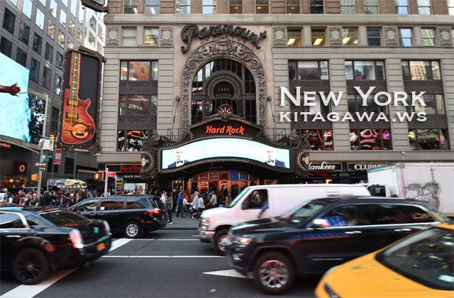 Hard Rock Cafe New York ハードロックカフェ ニューヨーク