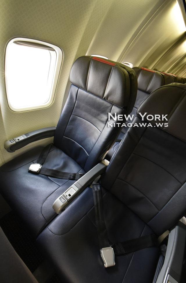 アメリカン航空エコノミークラス