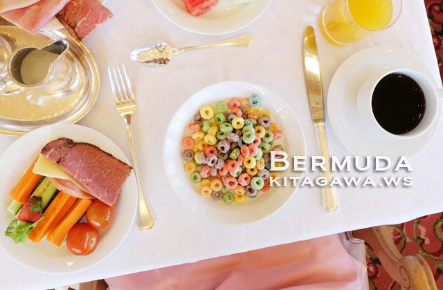 フェアモント 朝食 バミューダ