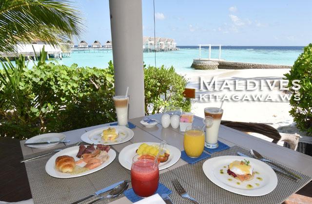 モルディブ 朝食