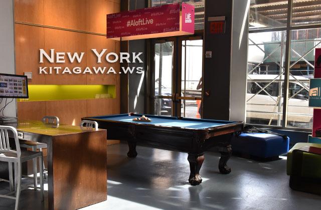 アロフト ニューヨーク ブルックリン ホテル