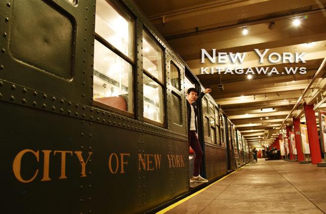 ニューヨーク交通博物館 New York Transit Museum