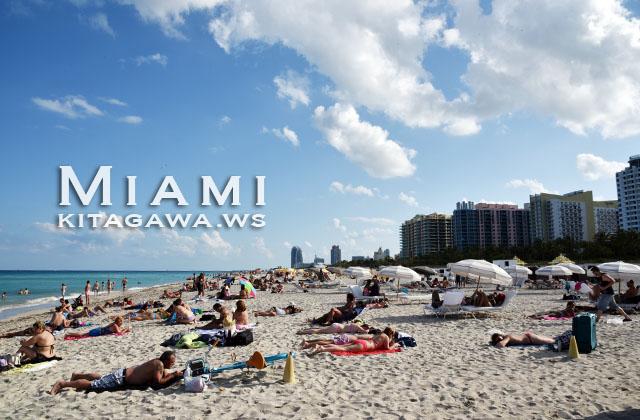 Miami Beach マイアミビーチ