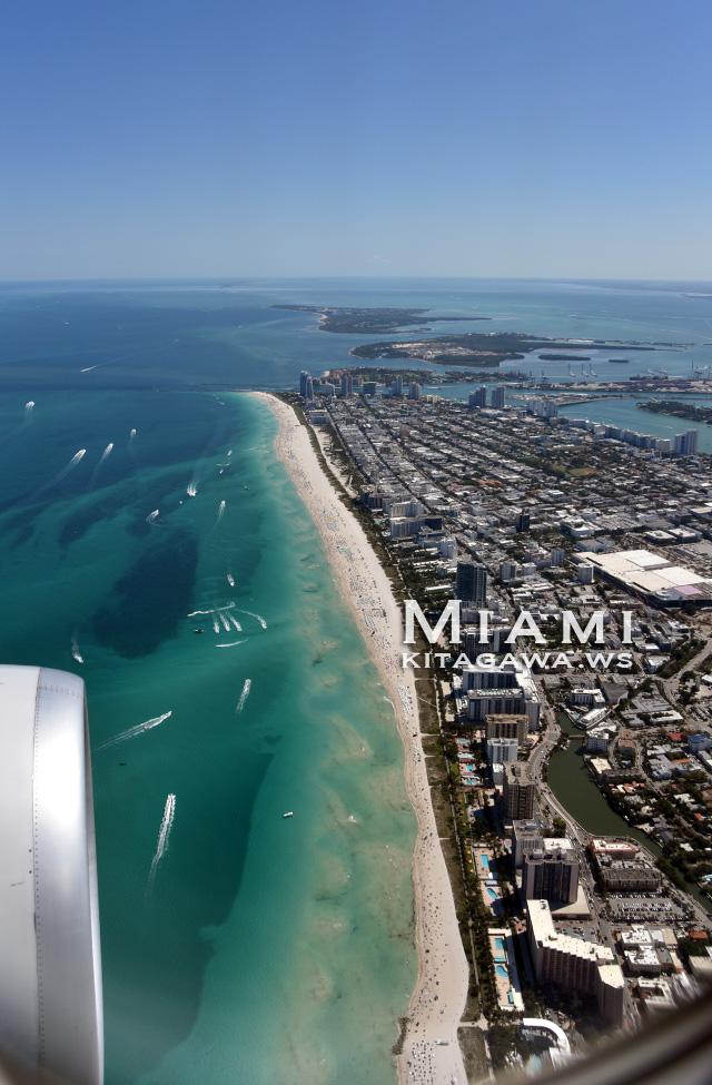 マイアミビーチ 空撮