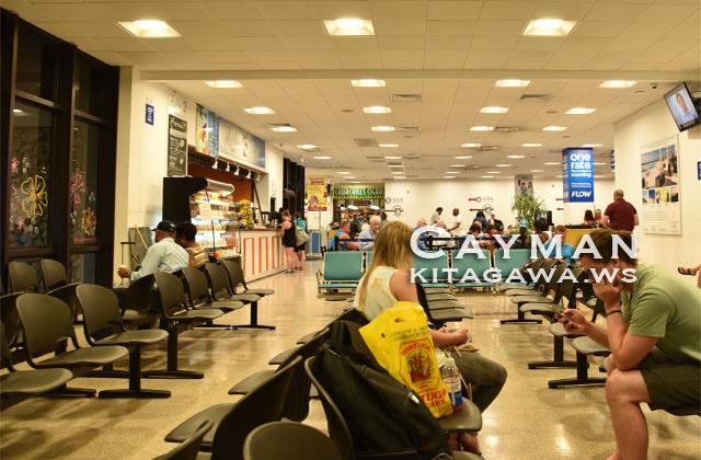 グランドケイマン GCM オーウェンロバーツ国際空港
