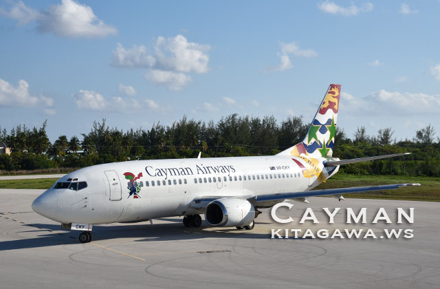 Cayman Airways Boeing 737