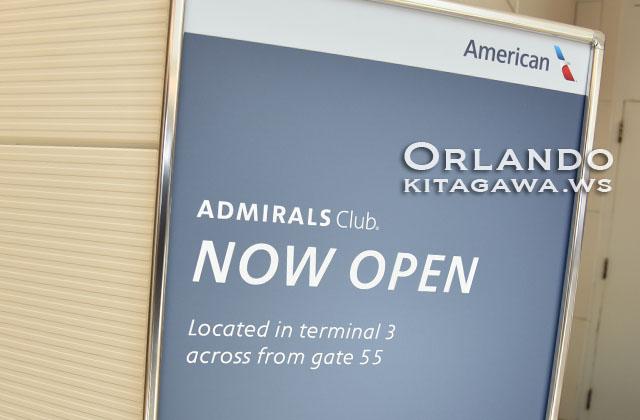 Admirals Club Orlando MCO