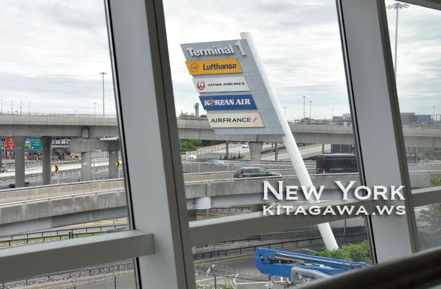 ジョンFケネディ空港 ニューヨーク ターミナル1