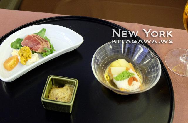 JAL ファーストクラス 和食