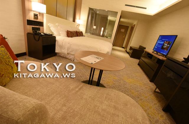 シェラトン都ホテル東京 エグゼクティブフロア デラックス