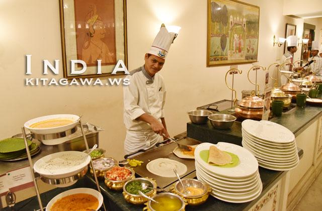 インド料理 ホテル朝食
