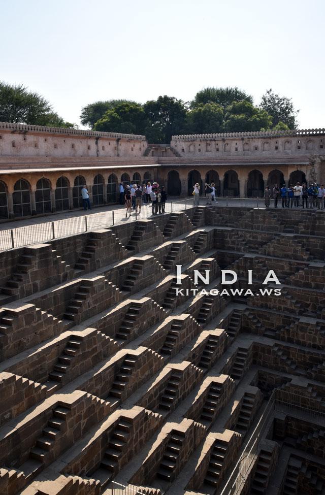 インド チャンドバオリ 階段