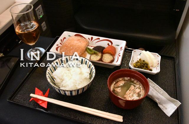 JAL ビジネスクラス 和食