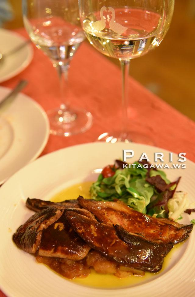 パリ フォアグラ レストラン