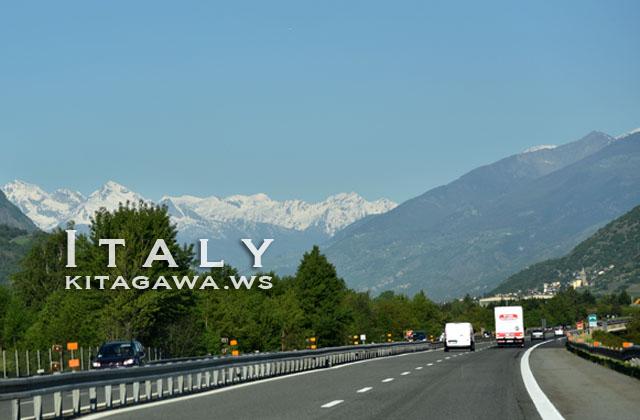 イタリア ドライブ