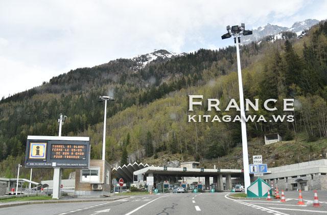モンブラントンネル フランス