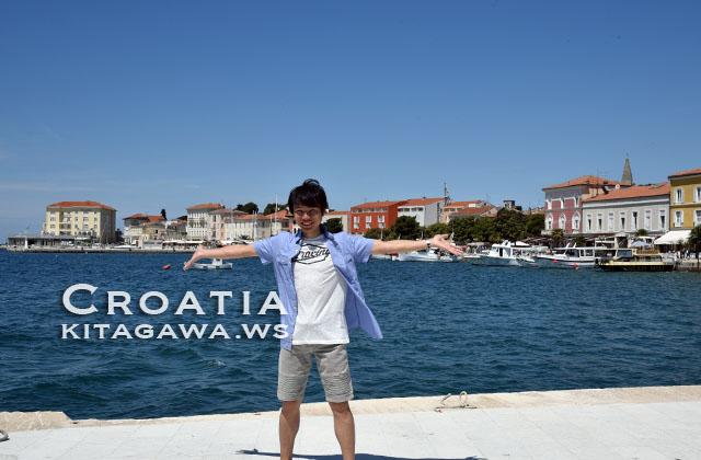 クロアチア旅行記 ポレチュ観光