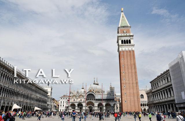 サンマルコ広場 ヴェネツィア