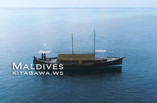 モルディブ 船 チャーター