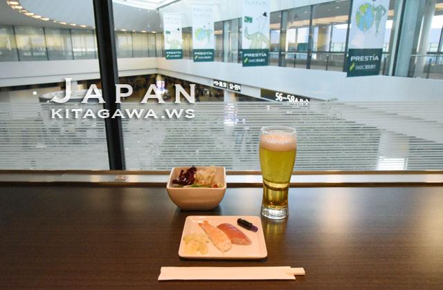 ANA LOUNGE ビジネスクラス 成田空港