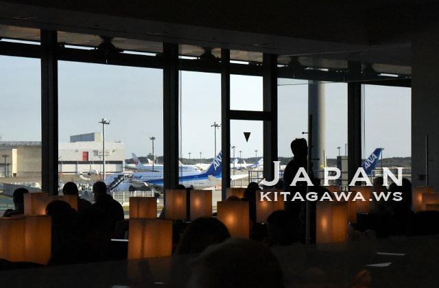 ANA LOUNGE ビジネスクラスラウンジ 成田空港 国際線