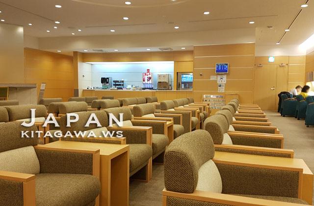 中部セントレア JAL ANA 国内線ラウンジ