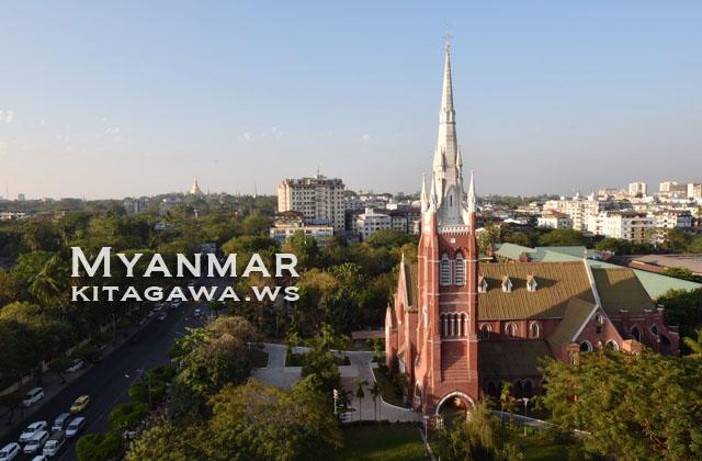 ホーリートリニティ教会 ヤンゴン