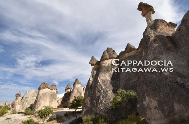 カッパドキア きのこ岩