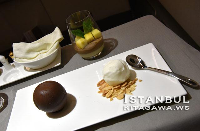トルコ航空 ビジネスクラス 機内食