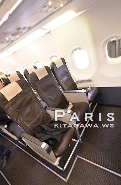 スイスインターナショナルエアラインズ A321 ビジネスクラス