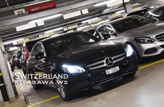 スイス レンタカー